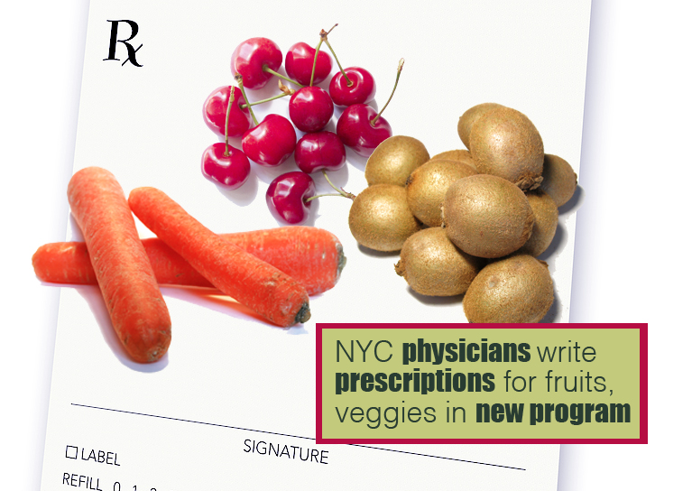 prescriptions for veggies